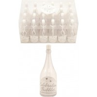 Såpbubblor Champagneflaska - 24-pack