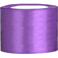 Satinband Lila - 50mm x 25 m
