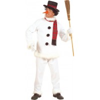 Snögubbe Budget Maskeraddräkt - Small