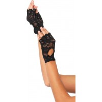 Spetshandskar Svarta Deluxe - One size