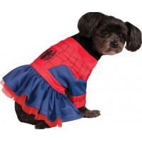 Spidergirl Hund Maskeraddräkt - X-Small