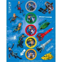 Stickers Thunderbirds - 4-pack