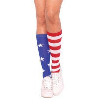 Strumpor Stars and Stripes Deluxe - One size