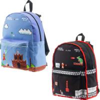 Super Mario Bros Vändbar Ryggsäck - 1-pack