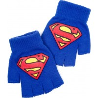 Superman Fingerlösa Handskar - One size