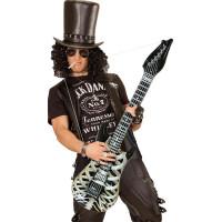 Uppblåsbar Gitarr Skelett