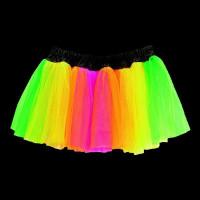 UV Neon Underkjol - One size