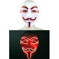 V For Vendetta LED Mask - One size