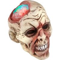 Zombiehuvud med Färgskiftande Hjärna