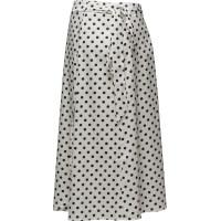 Fey 448 Wrap, White Polka, Skirt
