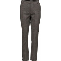 Cigarette Pants In Check Fabric, An