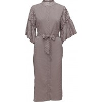 Shirt Dress In Stripe Print W. Vola