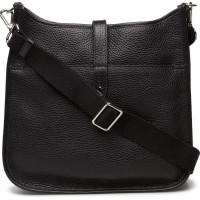 Cross Body Bag With Canvas