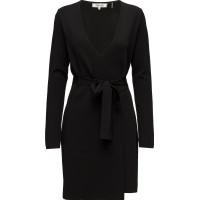 L/S V-Neck Knit Wrap Dress