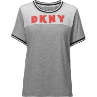 Dkny Spell It Out Tee Sh/Sleeve