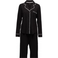 Dkny New Signature L/S Top & Pant Pj Set