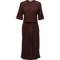 Double Wrap Jersey Dress