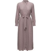 Elao Drape Long Sleeve Shirt Dress