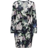 Frith Sheen Jersey Wrap Dress