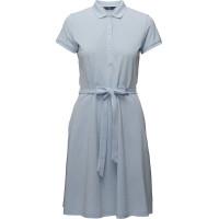 O2. Oxford Pique Ss Flared Dress