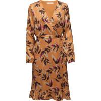 Orangina Wrap Dress Hs18