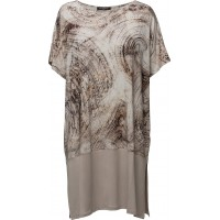 Womens Loosefit Animal Dress