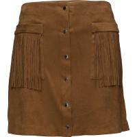 Pocket Fringed Skirt