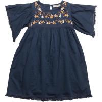 Tassels Embroidered Dress