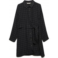 Knot Checked Dress