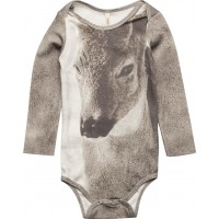 Baby Body Fawn Aop