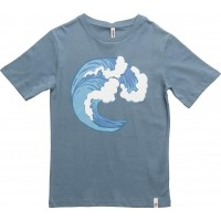 Basic Ss Tee Petrol With Wave Screen