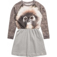 Robbie Dress Monkey On Greymelange