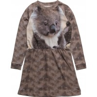 Robbie Ls Dress Koala Aop