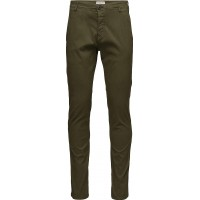 Slhskinny-Luca Olive Night Pants W Noos