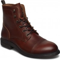 Slhterrel Leather Boot W Noos