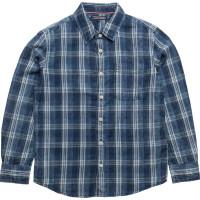 D Indigo Y/D Check Shirt L/S