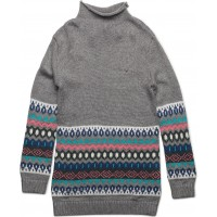 Fairisle Sweater Dress L/S