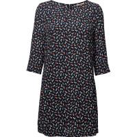 Thdw Aline Print Dress 3/4 Slv 17