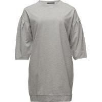 Pleats Sweatshirt Dress