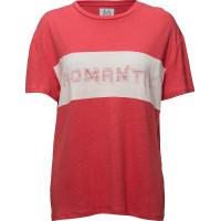 Linen-Blend Boyfriend T-Shirt Romantix