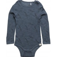 Body Ls -W. Aop Wool Wonder Wollies