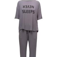 Dkny Never Sleeps Top & Jogger Set