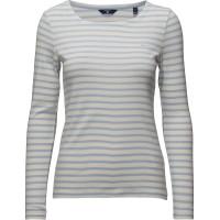 O1. Striped 1x1 Rib Ls T-Shirt