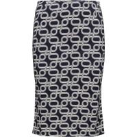 O1. Allover G Printed Skirt