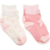 2 Pack Printed Socks