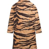 Lecce Dress Brown Tiger Aop