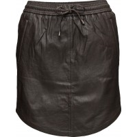 Pril Leather Skirt