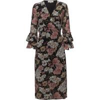 Sfcynthia Ls Wrap Dress Ex