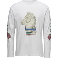 Vinton T-Shirt W. Long Sleeved And Print