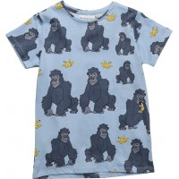 Tee Gorillan Multi-Animal Blue